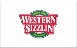 Buy Western Sizzlin Gift Card