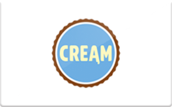 Sell CREAM Gift Card
