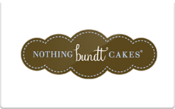 Sell Nothing Bundt Cakes Gift Card