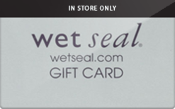 Sell Wet Seal (In Store Only) Gift Card