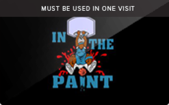 Sell In the Paint Basketball Gift Card