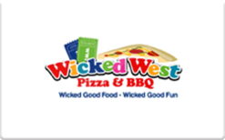 Sell Wicked West Pizza & BBQ Gift Card