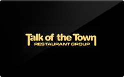 Sell Talk of the Town Restaurant Group Gift Card