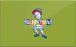 Buy Geppeto's Gift Card