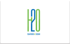 Sell H2O: Seafood & Sushi Gift Card