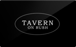 Sell Tavern on Rush Gift Card