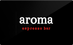 Sell Aroma Espresso Bar Gift Card