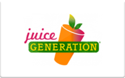 Sell Juice Generation Gift Card