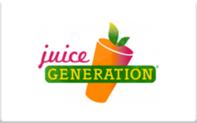 Buy Juice Generation Gift Card