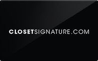 Buy Closet Signature Gift Card