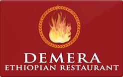Sell Demera Ethiopian Restaurant Gift Card