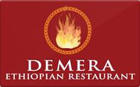 Buy Demera Ethiopian Restaurant Gift Card