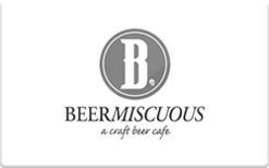 Buy Beermiscuous Gift Card