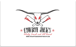 Sell Cowboy Jack's Gift Card