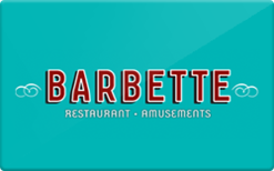 Buy Barbette Gift Card