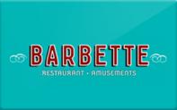 Buy Barbette Gift Card