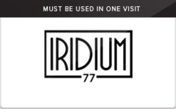 Sell Iridium Clothing Co. Gift Card