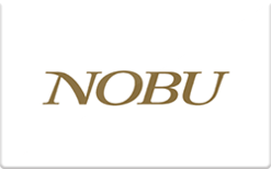 Buy Nobu Restaurants Gift Card