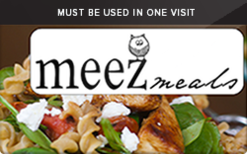 Sell Meez Meals Gift Card