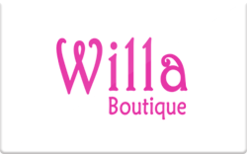 Buy Willa Boutique Gift Card