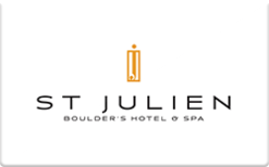 Sell St. Julien Hotel & Spa Gift Card