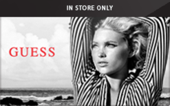 Sell Guess (In Store Only) Gift Card