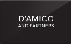 Sell D'Amico and Partners Gift Card