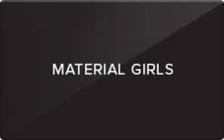 Buy Material Girls Gift Card