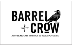Sell Barrel and Crow Gift Card