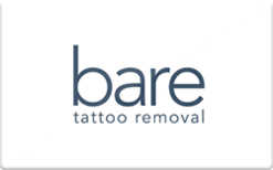 Buy Bare Tattoo Removal Gift Card