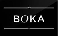 Boka gift card taxon