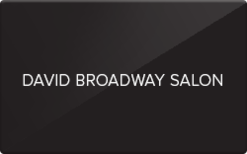 Sell David Broadway Salon & Spa Gift Card