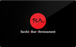 Sell RA Sushi Bar Restaurant Gift Card