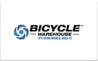Buy Bicycle Warehouse Gift Card