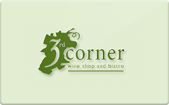 Sell The 3rd Corner Wine Shop and Bistro Gift Card