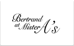 Sell Bertrand at Mister A's Gift Card