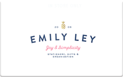 Sell Emily Ley Gift Card