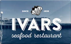 Buy Ivar's Seafood Restaurants & Chowder Gift Card