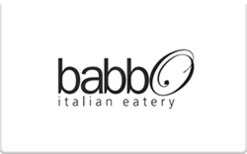 Sell Babbo Italian Eatery Gift Card