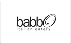 Buy Babbo Italian Eatery Gift Card