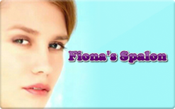 Sell Fiona's Spalon Gift Card