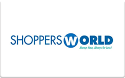 Sell Shoppers World Gift Card
