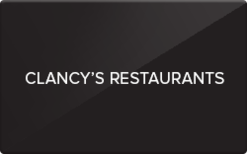 Sell Clancy's By The Sea Gift Card