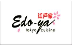 Sell Edo-ya Tokyo Cuisine Gift Card