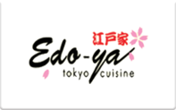Buy Edo-ya Tokyo Cuisine Gift Card