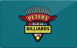 Sell Peters Billiards Gift Card