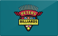 Buy Peters Billiards Gift Card