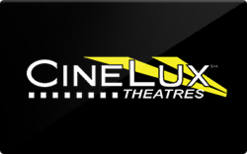 Buy Cinelux Theatres Gift Card
