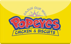 Sell Popeyes Gift Card