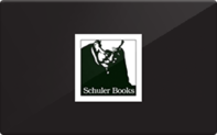 Buy Schuler Books & Music Gift Card